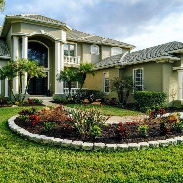 Finished Landscape Design Tampa FL