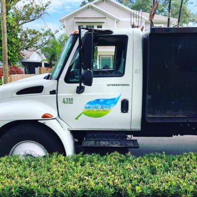 Medscapes Landscaping Tampa Truck