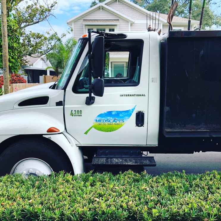 Medscapes Landscaping Tampa Truck