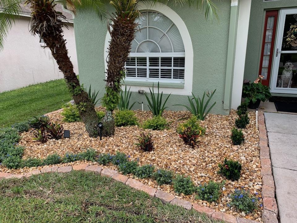 Residential Landscape Design Tampa - After